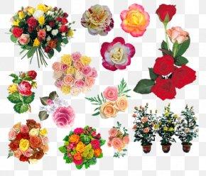 Flower - Floral Design Garden Roses Artificial Flower Clip Art PNG