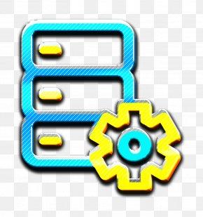 Symbol Setting Icon - Big Data Icon Configuration Icon Database Icon PNG