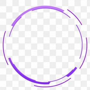Technology Background - Laser Rangefinder Circle PNG