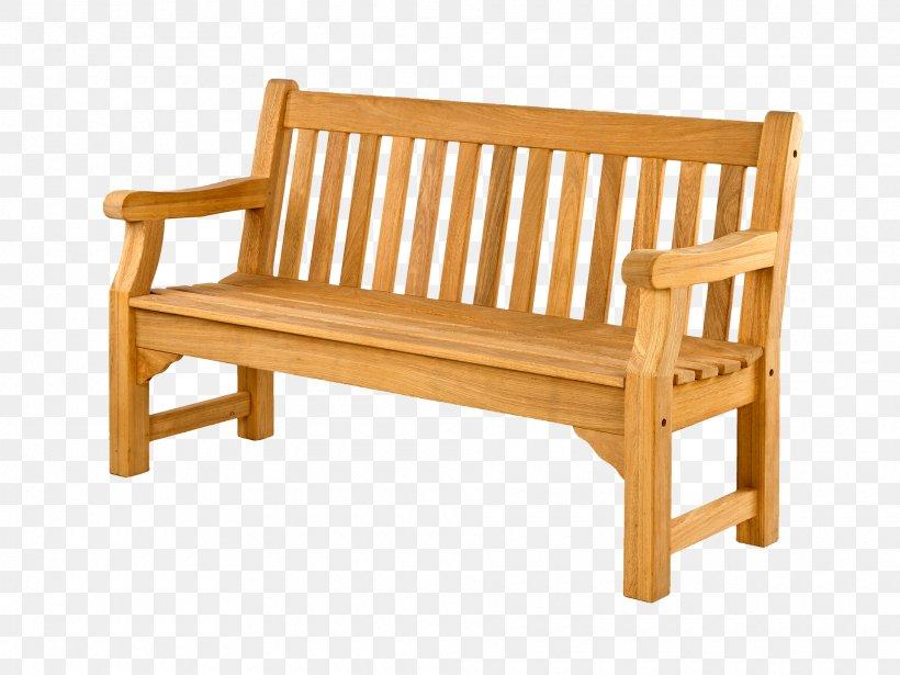 Bench Garden Furniture Oak Png