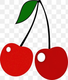 Fruit Drupe - Red Cherry Plant Heart Tree PNG