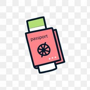 Red And Black Passport - Iraqi Passport Israeli Passport PNG