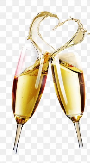Champagne - Champagne Glass Wine Glass Cup PNG