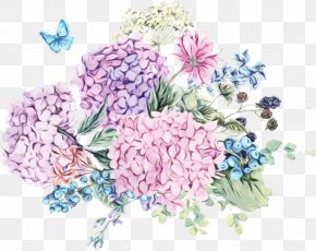 Watercolor Painting Stock Illustration Flower Graphics PNG