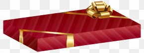 Red Gift Pack Transparent Clip Art Image - Gift Christmas Clip Art PNG