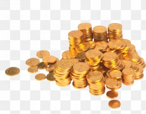 Gold Coin - How? How To Obtain Wealth In 30 Days! Coin Money Information PNG