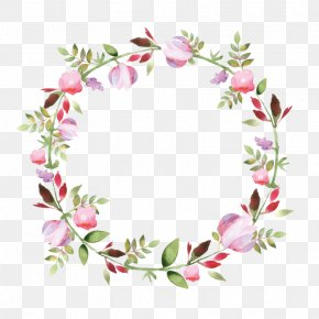 Watercolor Wreath - The Bible: The Old And New Testaments: King James Version Proverbs 31 Mother PNG