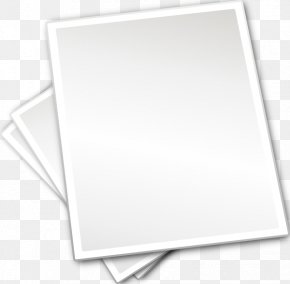 Paper Sheet Picture - Poster Free Content Clip Art PNG