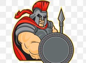 Roman Soldiers - Roman Empire Mascot Soldier Clip Art PNG