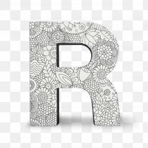 Block Letters - Block Letters Coloring Book Alphabet PNG