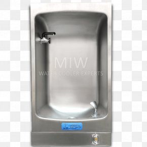 Airport Water Refill Station - Drinking Fountains Water Cooler Drinking Water PNG