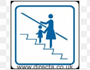 Escalator - Signage Logo Sticker PNG