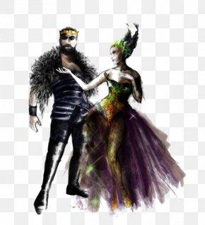 Retro Queen King - The Quarrel Of Oberon And Titania A Midsummer Nights Dream King PNG