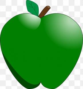 GREEN APPLE - Apple Cartoon Clip Art PNG