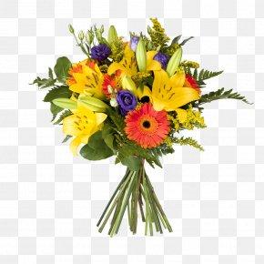 Floral Design Gerbera - Floral Design PNG