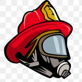 Fireman Hat - Firefighters Helmet Bicycle Helmet Clip Art PNG