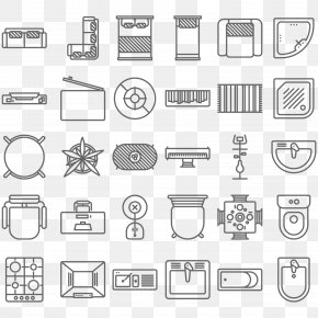 Vector Furniture Icon In The Top View - Furniture Couch Icon PNG