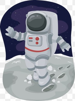 Astronaut - Moonwalk Royalty-free Clip Art PNG