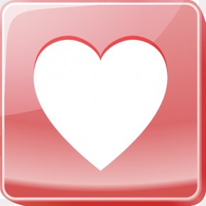 Pink Heart Icon - Icon Test Love Android Application Package Icon PNG