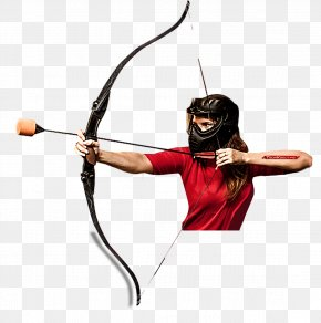 Archer - Ranged Weapon Bow And Arrow Bowyer Recreation PNG