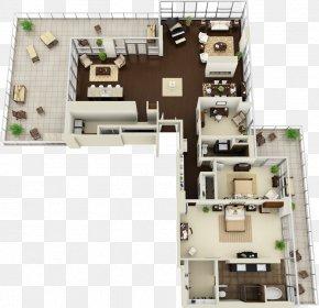 3D Floor Plan - 3D Floor Plan House PNG