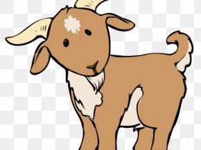 Goat - Goat Sheep Clip Art Image PNG