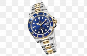 Rolex - Rolex GMT Master II Rolex Submariner Watch Blue PNG