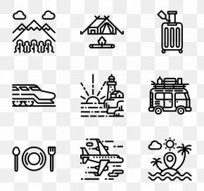 Travel Pack - Symbol Icon Design Desktop Wallpaper PNG