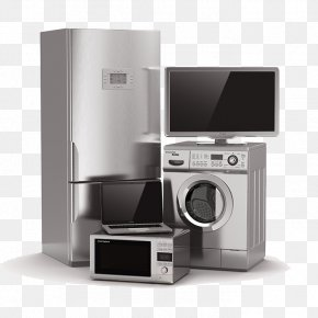 Various Home Appliances - Home Appliance Kitchen Refrigerator Major Appliance Washing Machine PNG