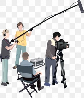 Film Crew - Microphone Film Crew Film Producer Film Director PNG