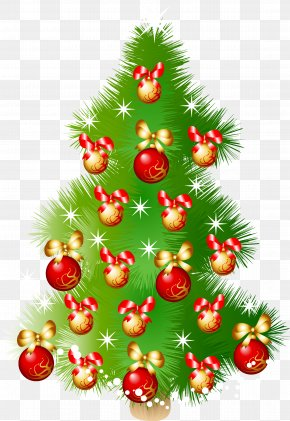 Christmas Tree - Christmas Tree Christmas Ornament Fir PNG