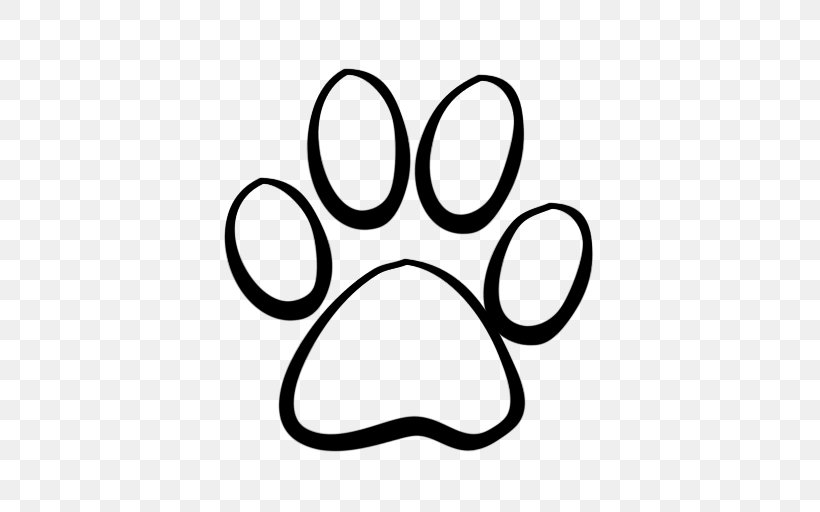 Dog Cat Tiger Coyote Clip Art, PNG, 512x512px, Dog, Area, Black And White, Black Panther, Cat Download Free