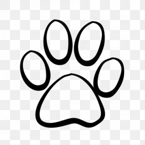 Lion Paw Print - Dog Cat Tiger Coyote Clip Art PNG