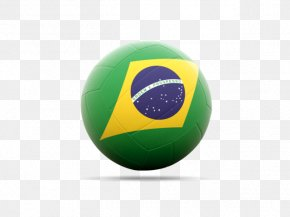 Football - Brazil National Football Team Flag Football Sport PNG