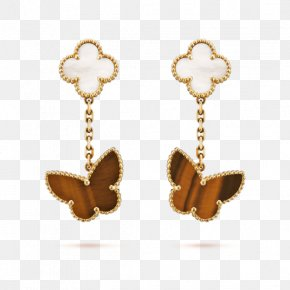 Jewellery - Earring Van Cleef & Arpels Jewellery Colored Gold Cartier PNG