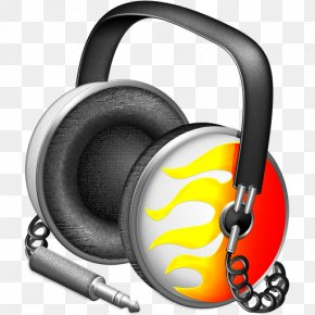 Flame Headphones - ITunes Apple Icon Image Format Icon PNG