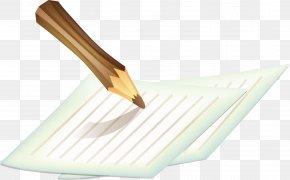 Pen And Paper Clips Pattern - Paper Clip Pen Clip Art PNG