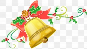 Musical Instrument Christmas - Christmas Bell Drawing PNG
