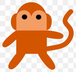 Monkey Vector Art - Ape Monkey Clip Art PNG