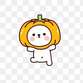 Halloween Pumpkin - Halloween Pumpkin Jack-o-lantern Cuteness PNG