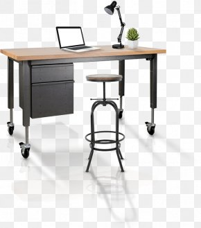 Office Scene - Desk Furniture Table Office Manufacturing PNG