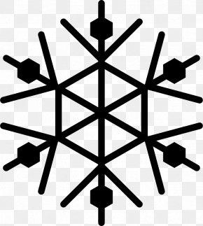 Snowflake - Snowflake Winter Clip Art PNG