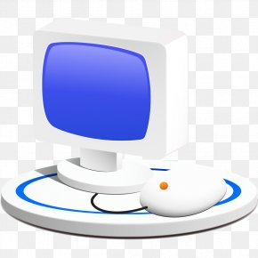 Computer Monitor - Computer Monitor Computer Mouse Personal Computer Icon PNG