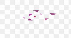 Creative Geometric Triangle Floating - Logo Brand Desktop Wallpaper Font PNG