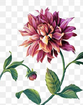 Painting - Painting Paper Decoupage Flower PNG
