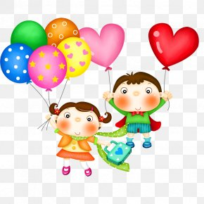 Happy Children - Childrens Day Fathers Day Party Clip Art PNG
