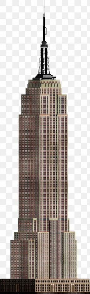 Skyscraper - Empire State Building Skyscraper Clip Art PNG