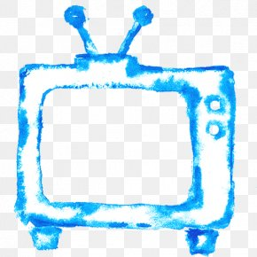 Drawing TV - Television Watercolor Painting Drawing PNG