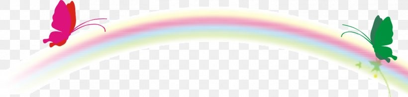 Rainbow Euclidean Vector Logo, PNG, 1415x338px, Rainbow, Brand, Color, Element, Logo Download Free