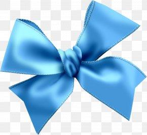 Blue Bow Image - Blue Clip Art PNG